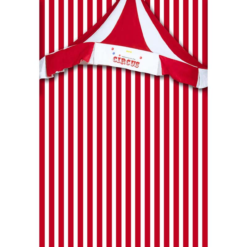 5 x 7 ft Red Circus stripes vinyl cloth photography backdrops for children newborn photo studio photographic backgrounds S-1296 circus banner party backdrops vinyl cloth computer printed children photo background circus