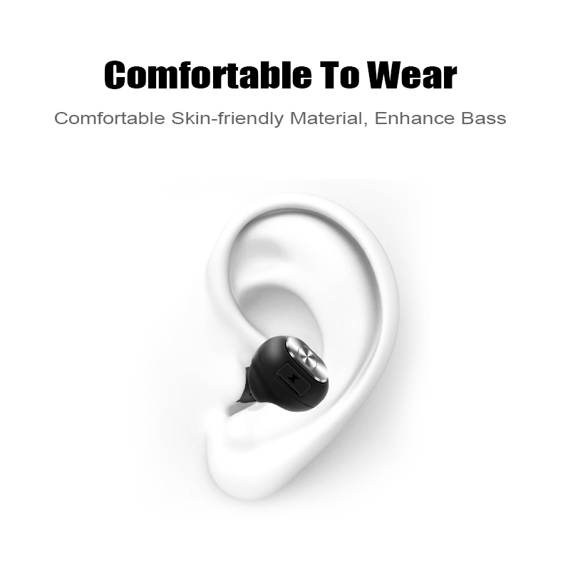 M&J Capsule Wireless TWS Earbuds Bluetooth Earphone With Mic And Deep Bass 8