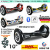 10inch 2 Wheel Hoverboard Wonderful Walk Easily Bluetooth Musical Electric Balance Scooter