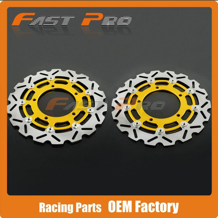 Front Brake Disc Rotor For Suzuki GSR400/600 DL650 DL1000 V-Strom GSF650 BANDIT GSR750 GSF1250 GSX1250 B-KING GSXR1300 HAYABUSA 310mm motorcycle front wavy floating brake disc rotor for suzuki gsf bandit 1250 07 15 gsx1250 10 15 b king 1300 08 11 gsx1300