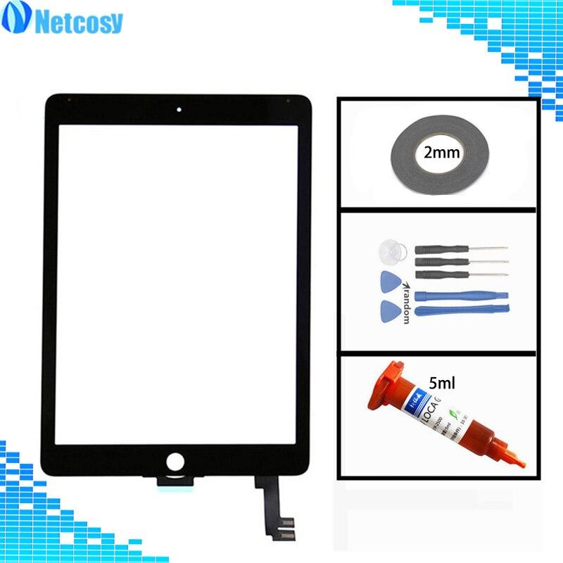 A1566 A1567 Touch Screen Digitizer Glass Lens Sensor Repair Parts For Ipad Air 2 Air2 A1567 A1566 Tablet Touch Panel