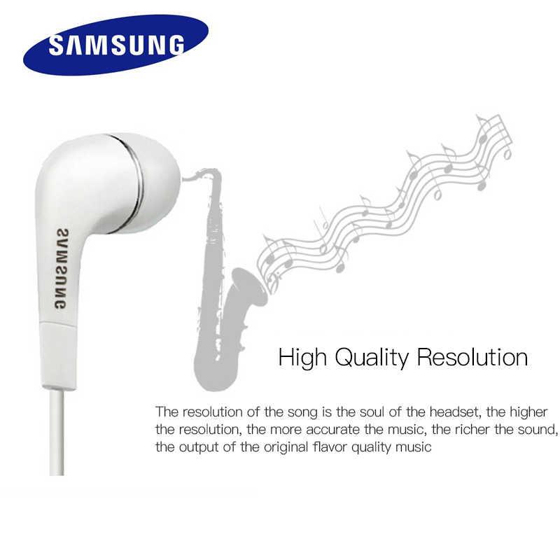 Samsung EHS64 écouteurs intra-auriculaires filaire 3.5mm casque Support Android avec Microphone haut-parleur pour Xiaomi Huawei casque de jeu