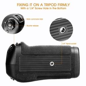 Image 5 - Samtian Multi Functionele Verticale Batterij Grip Houder Voor Nikon D500 Dslr Camera Vervangen MB D17 Werken Met EN EL15 Batterij