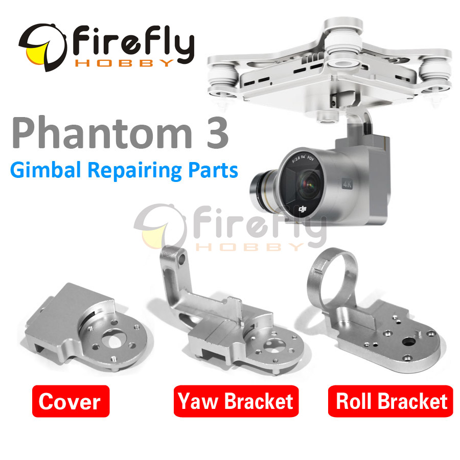 1pc Phantom 3 Accessory Gimbal Protector Guard Yaw Roll Bracket Cover Cap DIY Replacement for DJI Phantom3