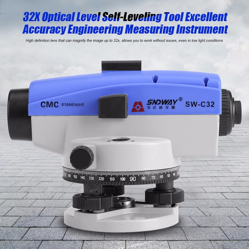 SW-C32 Optical Level Parallel Tester 32X Optical Laser Level Accurate Levelling Tool Instrument Self-levelling Diagnostic-toolSW-C32 Optical Level Parallel Tester 32X Optical Laser Level Accurate Levelling Tool Instrument Self-levelling Diagnostic-tool