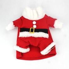 Christmas Cat Clothes Winter Pet Clothes for Cats Costume Suit Warm Cat Coats Jacket