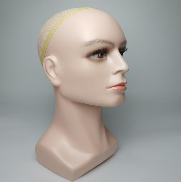 54 38CM Wig male head mannequins Glasses hat goggles display helmet anti virus dust mask display stand props 1pc A336 in Mannequins from Home Garden