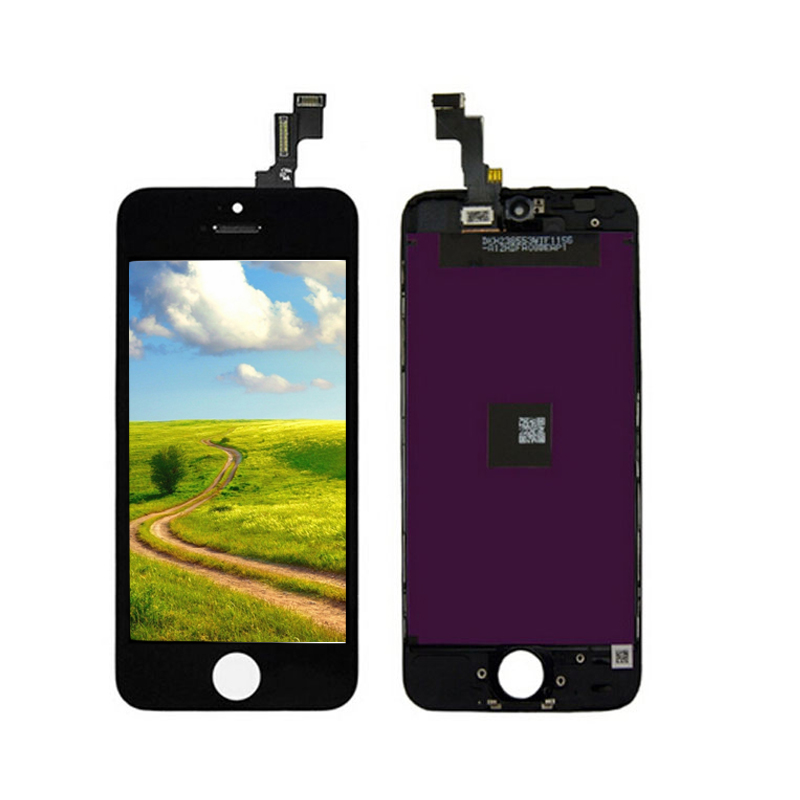 Onecell 100% High Quality Guarantee LCD Display With Touch Screen Digitizer Assembly For iPhone 5s Free Shipping Black White