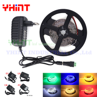 1 Set 5 Meters SMD3528 DC12V 2A IP65 IP20 Single Color Red Green Blue Yellow White