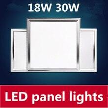 6pcslot led panel light 600x600 48w 300x300 18w 300x600 30w led ceiling light 4800lm