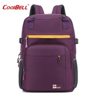 COOLBELL Large Capacity Anti Theft Waterproof Mochila Women S Men S Backpacks Bags Casual Business Laptop
