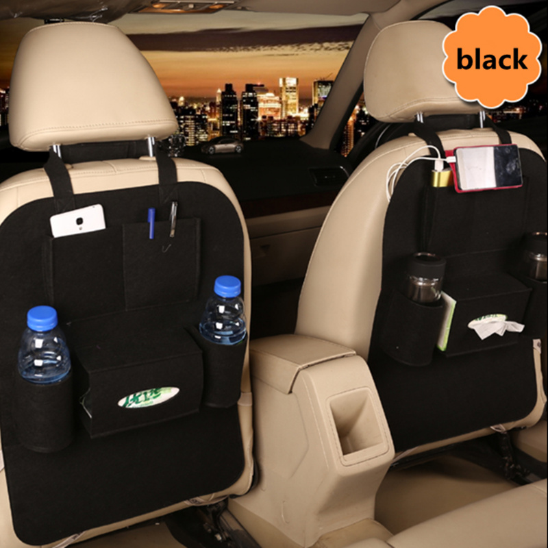 1PCS Universal Car Storage Bag Box Back Seat for Audi A1 A2 A3 A4 A5 A6 A7 A8 Q2 Q3 Q5 Q ...