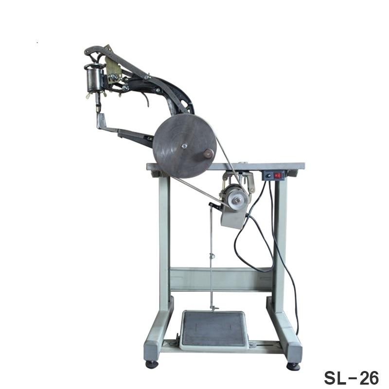 Professional SL26 Manual Shoe Edge Repairing Mending Machine Obolique Needle Shoe Sewing Machine Sew The Leather Shoes