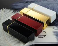 12 1mm Plastic Empty Cosmetic Lipstick Tube DIY Elegant Gold White Red Black Hollow Makeup Lip