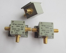 1 pièces Mini circuits ZEDC 15dB 2B 1 MHz 1000 MHz 15dB coupleur directionnel à large bande pour pour navire SWR/sans alimentation