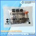 1 doble Original Sumitomo Electrodos T39 T81C T-600c T-400 ER-10 T71c TYPE-71 tipo-81c Fusión de Fibra Óptica Splicer Electrodo