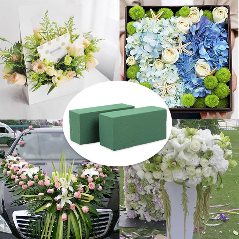 1pcs Floral Foam Brick Flower Holder For Fresh Flower Wedding