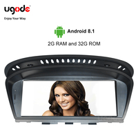 Vehicle GPS 8.8HD Screen Android 8.1 GPS Navigation for BMW 5 Series E60 3 series E90 CIC System Auto Video Multimedia Player