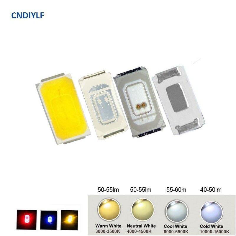 100 To 200PCS Full Color 5730 SMD LED White 3.0V 150ma 2700K 3000K 4000K 5000K 6000K 11000K Yellow Red 2.2V 40ma Blue 3V 40ma 200pcs irlr024npbf irlr024n irlr024 to 252