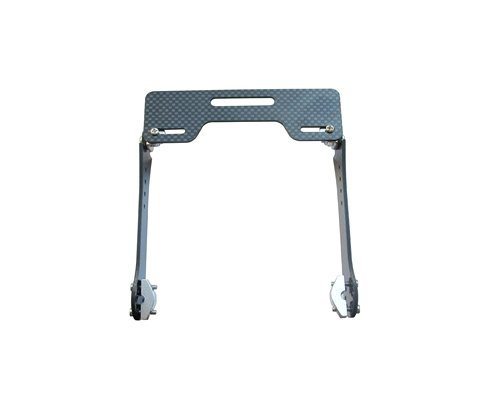 Spare Parts PV LCD Monitor Transmitter Mount Bracket for Futaba JR WFLY DJI Phantom Hitec Transmitter with Metal Bar Type