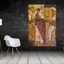 Abstract canvas painting on figure picture Nordic Hope Wall art  Pictures Decor Living Room No Frame Canvas Painting