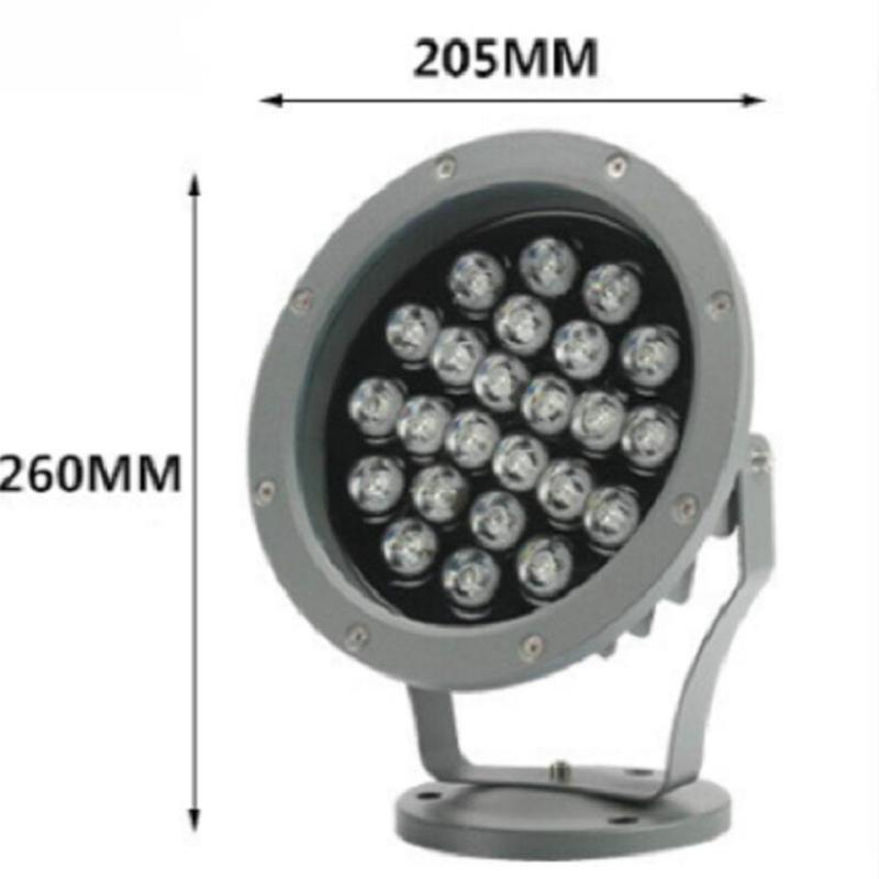 6W 12V AC85V 265V Outdoor Garden Lamp LED Lawn Light LED Spike Lamp Waterproof Pond Path Landscape Spot Lights Bulbs