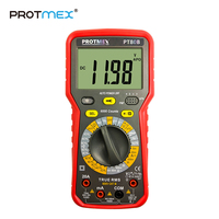 Protmex PT80B/80E 6000 Counts Digital Auto/Manual Car Tester Multimeter DC/AC Voltage, Current,, Resistance, Capacitance Tester