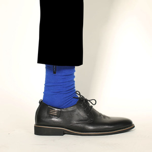 Image 5 - New Mens Colored Cotton High Quality Solid Color Business Casual Week Long Socks 7 Pair