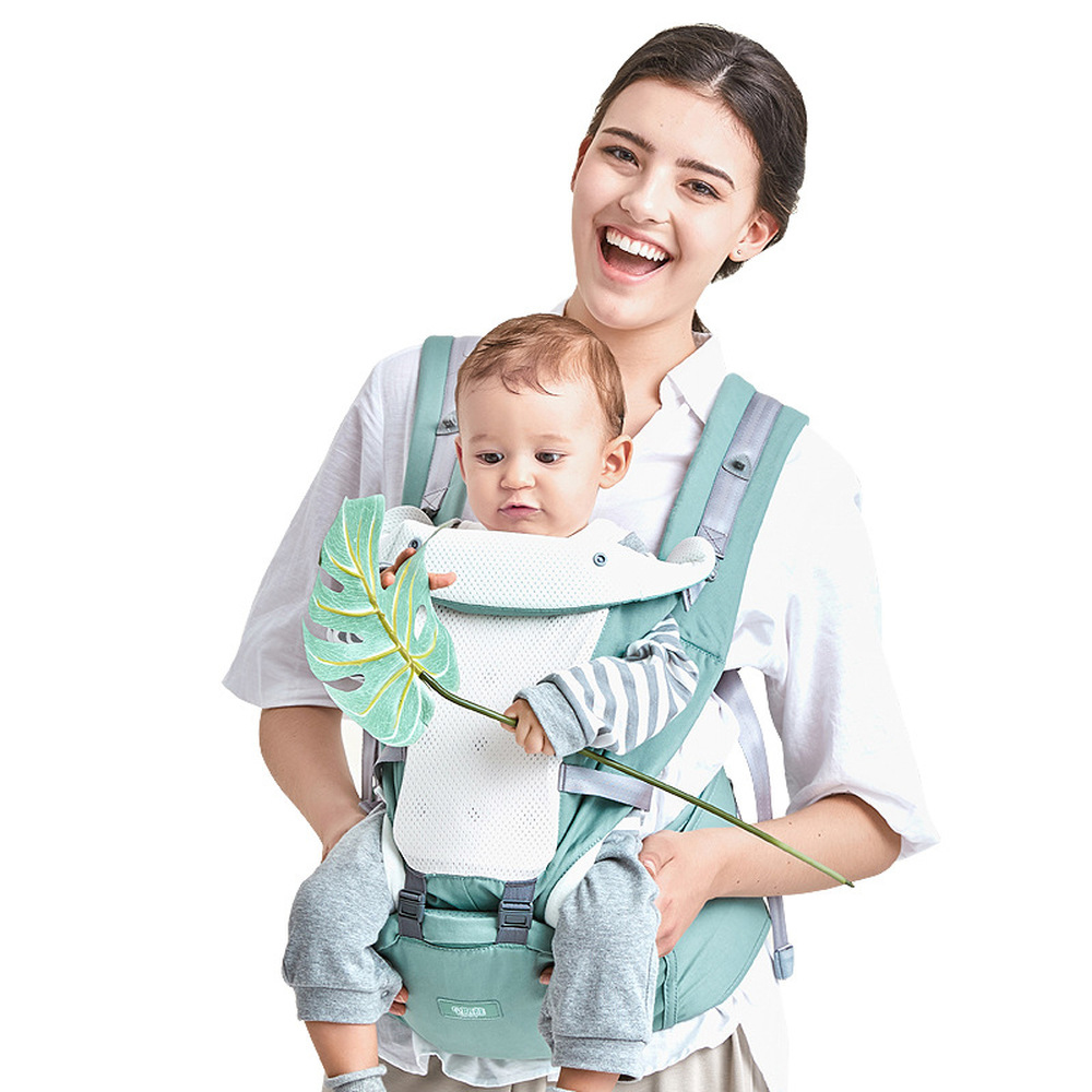 LoveCCD Ergonomic Baby Carrier Infant Baby Hipseat Carrier Front Facing Ergonomic Kangaroo Baby Wrap Sling for Baby Travel 0-36M