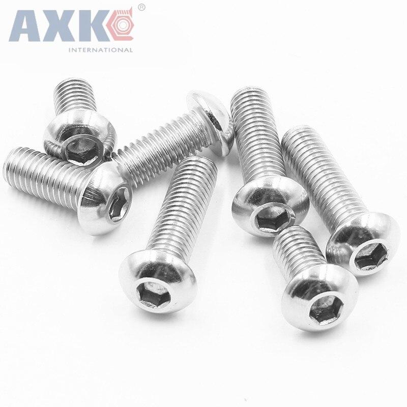 axk-m3-m4-m5-hexagon-socket-button-head-screws-304-stainless-steel-round-head-cap-screw-mushroom-head-hex-screws