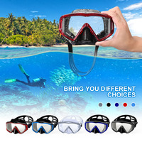 4da0db34a 2019 Diving Mask Professional Snorkeling Goggles Silicone Three Mirror HD  Diving Mask Dry Snorkel For Adults
