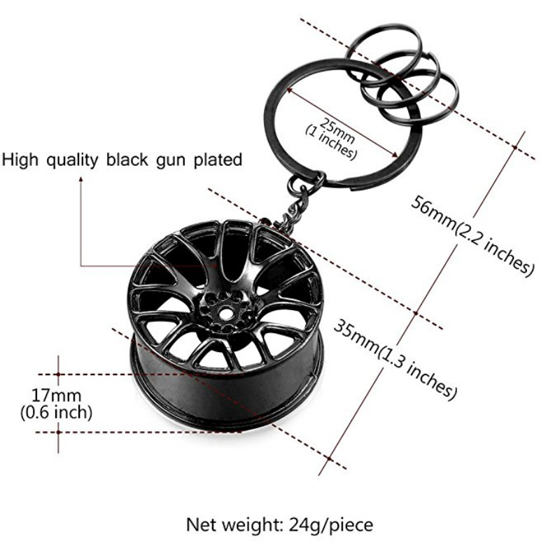 Wheel Tire <font><b>Styling</b></font> Creative Mini <font><b>Car</b></font> <font><b>Keychain</b></font> <font><b>Car</b></font> Auto <font><b>Keychain</b></font> Keyring <font><b>For</b></font> <font><b>BMW</b></font> VW Audi Honda <font><b>Car</b></font>-<font><b>styling</b></font> Tool image