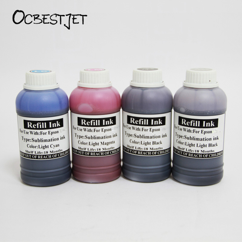 OCBESTJET 250ML Sublimation Ink For Epson 11880 7908 9908 7890 9890 3800 3880 3850 3890 4880 7880 9880 In LC LM LK LLK Color