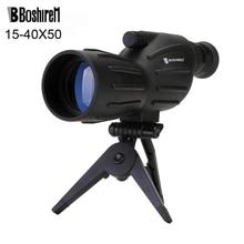 Boshiren 15-40x50 Zoom HD Παρακολουθήστε τα μονοκύτταρα πουλιά με διόπτρες με φορητό τρίποδο με εμβάπτιση FMC Blue Coating