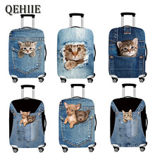 Animal 3D Pattern Travel Luggage Protection Cover 18-32 Inch Suitcase Elastic Case Covers Trolley Dust Cover Travel Accessories(China)