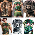 2016 Venta Caliente 1 Unids Modelos Masculinos Y Femeninos de La Moda Del Tatuaje Temporal A Prueba de agua Pegatinas Diseño de personajes Arte Corporal Maquillaje Herramientas