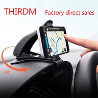 Opard Dashboard Car Mount Holder 360 Rotatable HUD GPS Cell Phone Cradle Safe Driving For IPhone