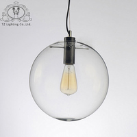 LUNICOO Modern Pendant Light For Dining Room LED Glass Ball Pendent Lamp Simple Lighting Pendelleuchte Pendente
