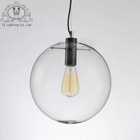 LUNICOO Modern Pendant Light For Dining Room LED Glass Ball Pendent Lamp Simple Lighting Pendelleuchte Pendente