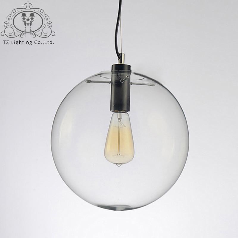 TZ Modern Pendant Light for Dining Room LED Glass Ball Pendent Lamp Simple Lighting Pendelleuchte Pendente Iluminacao комбинезон grishko grishko gr371ewquc45