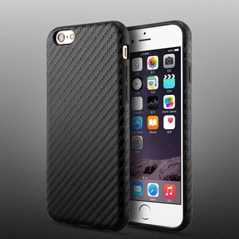 Real PC Plating + Silicone TPU Case For Iphone 6 6S 4.7 / 6 6S Plus 5.5 Soft Back Cover Dual Layer Tire Defender Anti-Skid Capa iphone 6