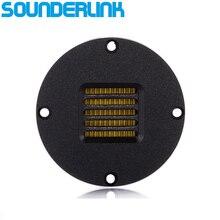 2 قطعة/الوحدة Sounderlink نيل نوع تصل إلى 40 كيلو هرتز الألومنيوم AMT مكبر الصوت مع كابتون الحجاب الحاجز الألومنيوم