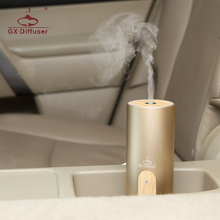 GX.Diffuser 2017 New Hot Sale USB Car Air Purifier Aroma Diffuser Humidifier Essential Oil Fragrance Diffuser Mist Maker Fogger