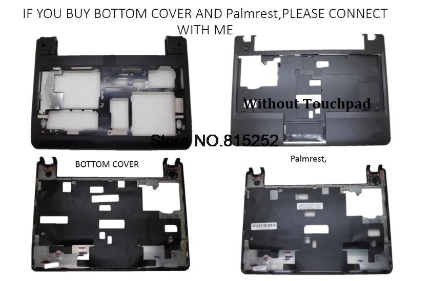 Laptop PalmRest for Lenovo Thinkpad Edge E145 E130 E135 4Y1208 00JT246 38LI2TALV10 Keyboard Bezel Upper Case with Touchpad Black New