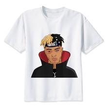 Xxxtentacion T shirt men t shirt fashion t-shirt O Neck white TShirts For man Top Tees M8166