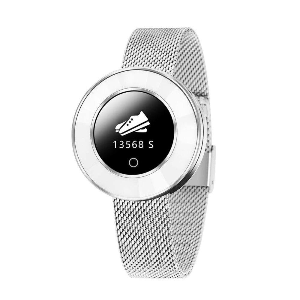 X6 montre intelligente pour les femmes IP68 étanche surveillance de la fréquence cardiaque tension artérielle dame Smartwatch chaud