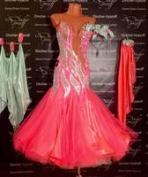 Modern Waltz Tango Ballroom Dance Dress Smooth Ballroom Dress Standard Ballroom Dress SizeS L M LL