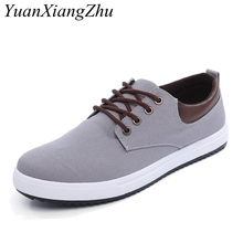 2019 New Mens Casual Shoes Breathable Lace-Up Canvas Shoes Man Loafers Plus Size 38-45 Zapatos Hombre Men Flats Driving Footwear new men lace up casual shoes leather loafers breathable mens driving shoes luxury comfortable designer flats zapatos de hombre