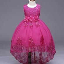 Filles Paillettes Formelle de Soirée De Mariage Tailing robes enfants Princesse Robe Fleur Filles Partie Robe pour Fille Vêtements pour 3-10ans