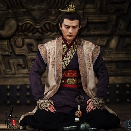 Prince Jing 2015 New TV Play Lang Ya Bang Nirvana in Fire Male Court Officer Sword